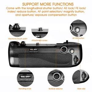 Image 4 - Samtian Multi Functionele Verticale Batterij Grip Houder Voor Nikon D500 Dslr Camera Vervangen MB D17 Werken Met EN EL15 Batterij