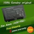 Бесплатная доставка Для Asus A32-F82 A32-F52 L0690L6 L0A2016 Оригинальные Батареи ноутбука для Asus F82 F83S K40 K40E K6C11 F52 K50 K51 K60