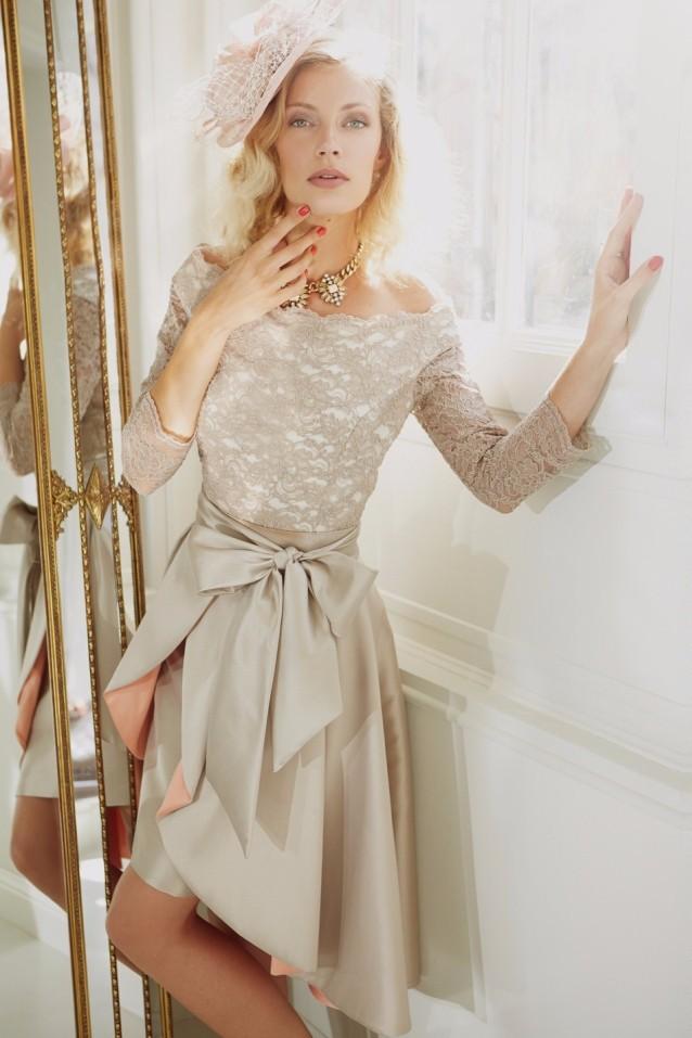 Plus-Size-2015-Mother-of-The-Bride-Dresses-Three-Quater-High-Collar-Purple-Lace-Short-Brides