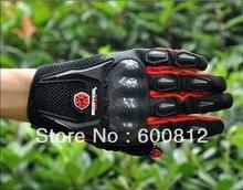 Новый SCOYCO MC09 MOTO racing перчатки, мотоцикл/расширенный защитными/moto внедорожных мотоциклов перчатки красного цвета размер Ml XL