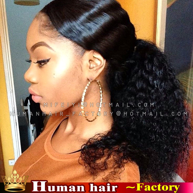 100 brazilian remy wrap around clip real people hair ponytail 100 brazilian remy wrap around clip real people hair ponytail extensions afro drawstring ponytail kinky curly for black woman on aliexpress alibaba pmusecretfo Images