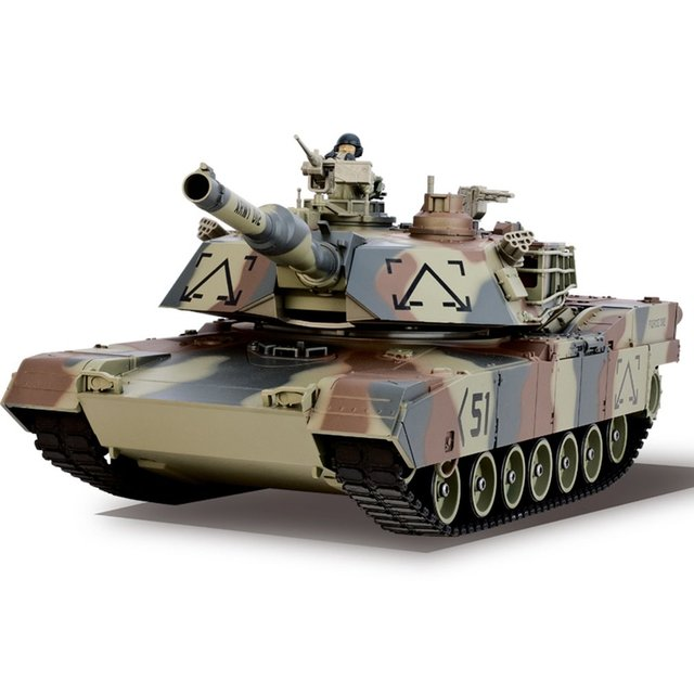 RC Toys BB Bullets Tank Set RC Military Car Remote Control Model Toy Gift Vehicle with 360 Rotate Life Indicator