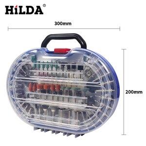 Image 5 - Hilda 276 Stuks Rotary Tool Bits Set Voor Dremel Rotary Tool Accessoires Voor Slijpen Polijsten Snijden Schurende Gereedschap Kits