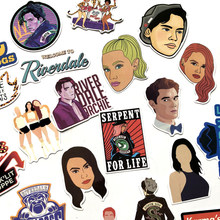 35pcs/set Riverdale Stickers For Laptop Skateboard Home Decoration Car Styling Vinyl Decals Doodle Cool DIY For Kids Gift(China)