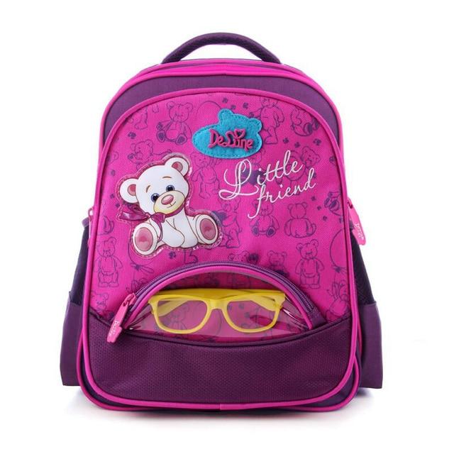 9774be9f57 2017 Brand school backpack girls and boys school bag cartoon bear car Children  school bags kids Waterproof nylon backpack