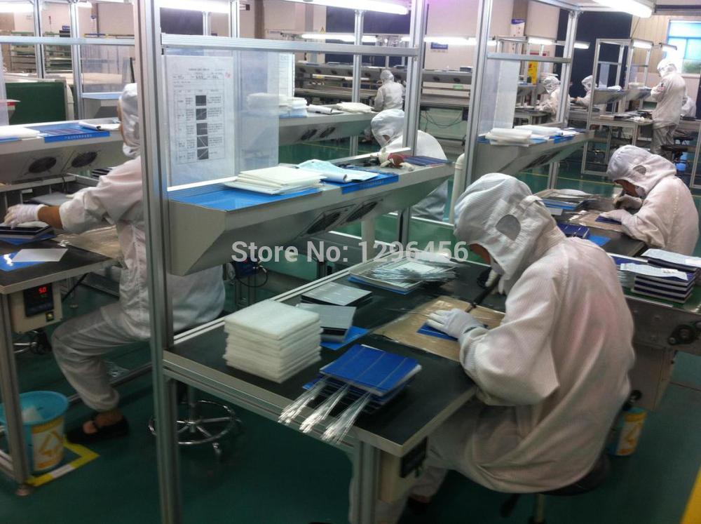 RoHS 200mm putcut sin plomo solar TAB Alambres S, precortadas tabulación Alambres, cualquier tamaño está bien, adecuado para 125 panel solar, - 5