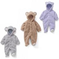 Newborn Baby Boy Clothing Fleece Winter Girl Rabbit Romper Infant Babies Clothes Meninas Bear Down Snowsuit