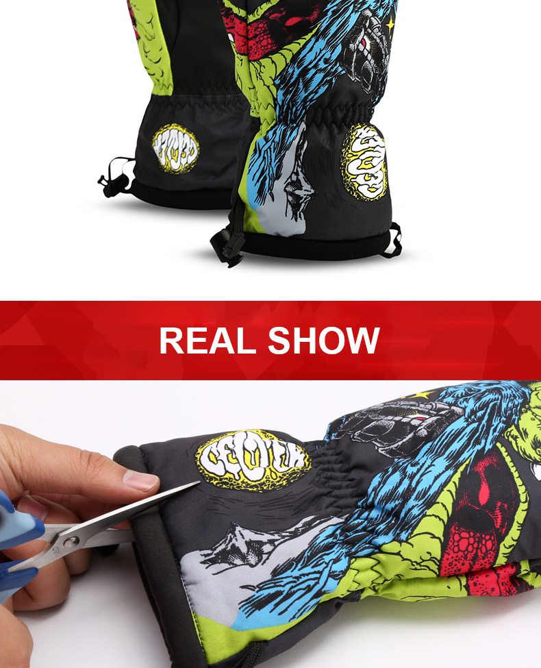 China waterproof snow gloves Suppliers
