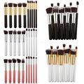 10Pcs Professional Cosmetic Makeup Tool Brush Brushes Set Powder Eyeshadow