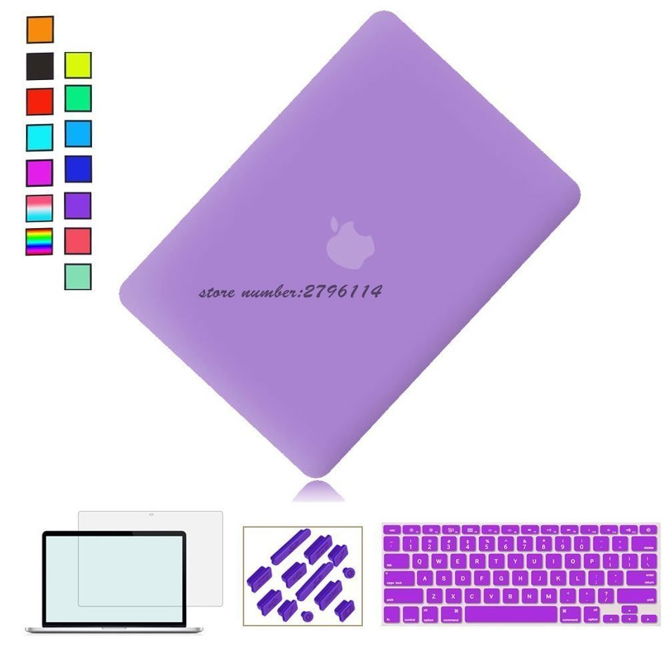 NEW Fashion Matte Case Cover For Apple macbook air pro11 13 15 Pro with Retina 12 13 15 Notebook shell For Mac book pro 13 inch