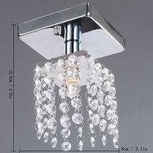 Вход охранник Yangtou коридор лампы кристалл потолочные светильники современный минималистский небольшой кристалл Потолочные Светильники