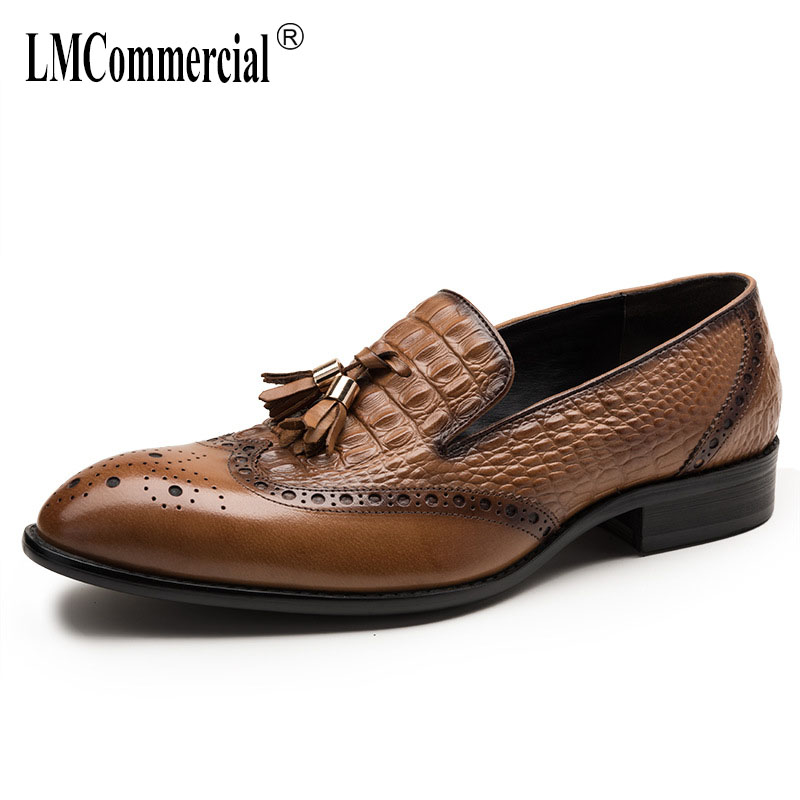 Mens Genuine Leather Shoes autumn winter British retro all-match cowhide men casual natural leather loafers mens luxury shoesMens Genuine Leather Shoes autumn winter British retro all-match cowhide men casual natural leather loafers mens luxury shoes