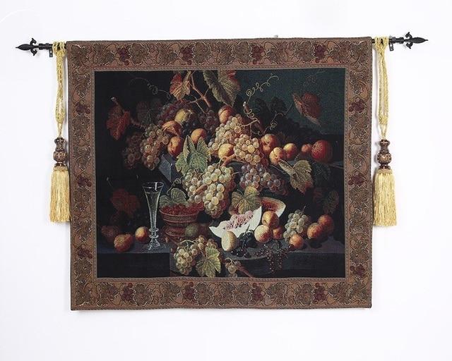 Cm belgische druif event eetkamer decorationtapestry muur