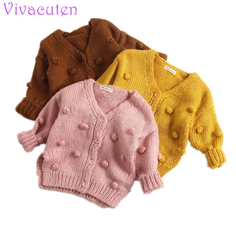 2018 Winter Sweater For Baby Girls Cardigan Sweater Jacket Cardigan Boys Girl Knitted Cardigan Fall Outwear Children Knitwear цены онлайн
