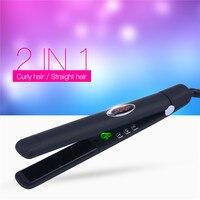 CkeyiN 100 240V Infrared Negative Ions Ceramic Hair Straightener Flat Iron Professional Hair Care Straightening Iron