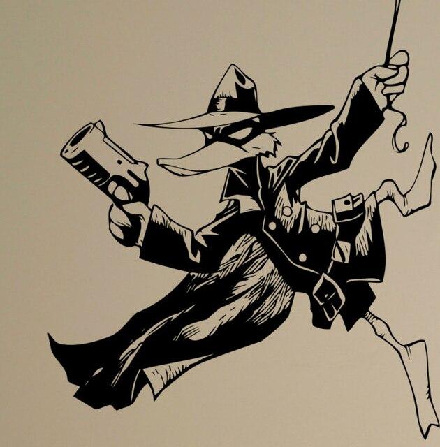 darkwing duck desenhos animados de super heróis da parede do vinil