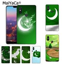 MaiYaCa National flag Pakistan flag Flower phone case for Xiaomi Mi 6 Mix2 Mix2S Note3 8 8SE Redmi 5 5Plus Note4 4X Note5