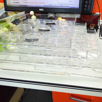 Новый стиль 3D держатель ресниц База ресницы лоток глаз Макияж инструмент полоски Лидер продаж