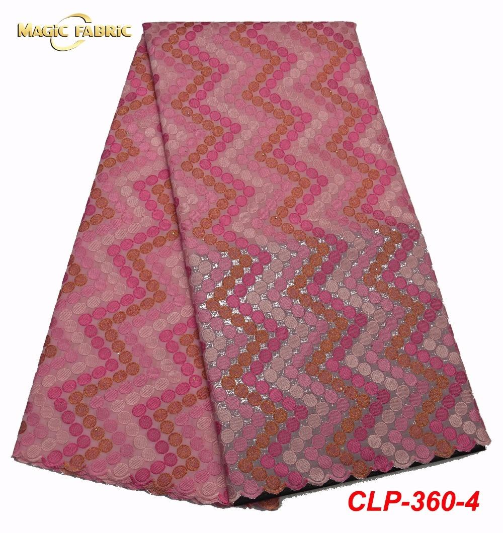 Afryki szwajcarski bawełniany woal z koronką tkaniny szwajcarska koronka wysokiej jakości tkaniny bawełnianej koronki w szwajcarii CLP 360 w Koronka od Dom i ogród na  Grupa 1