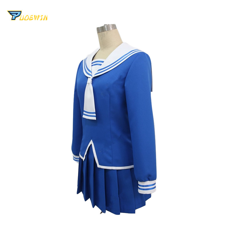 Fruits Basket Tohru Honda Cosplay Costume School Sailor Uniform Suit Customized