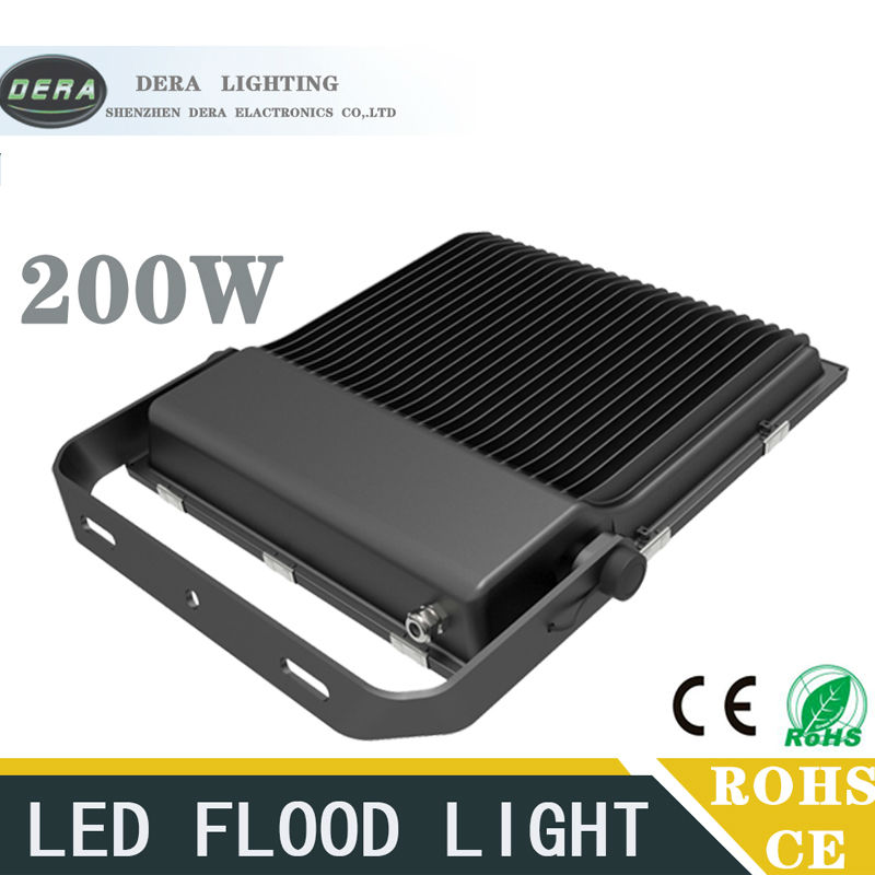 LED FloodLight 200W Reflector Led Flood Light Spotlight AC110-277V Waterproof IP65 Outdoor Wall Lamp led flood light waterproof ip65 200w 90 240v led floodlight spotlight fit for outdoor wall lamp garden projectors