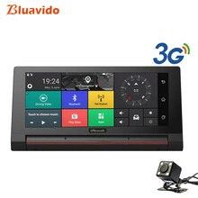 Bluavido 6.86 «Touch Видеорегистраторы для автомобилей 3G Android Full HD 1080 P видео Камера Регистраторы GPS навигации Bluetooth Handfree automovi dashcam