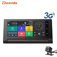 Bluavido 6.86 Touch Car DVR 3G Android Full HD 1080P Video Camera Recorder GPS Navigation Bluetooth Handfree automovi Dashcam