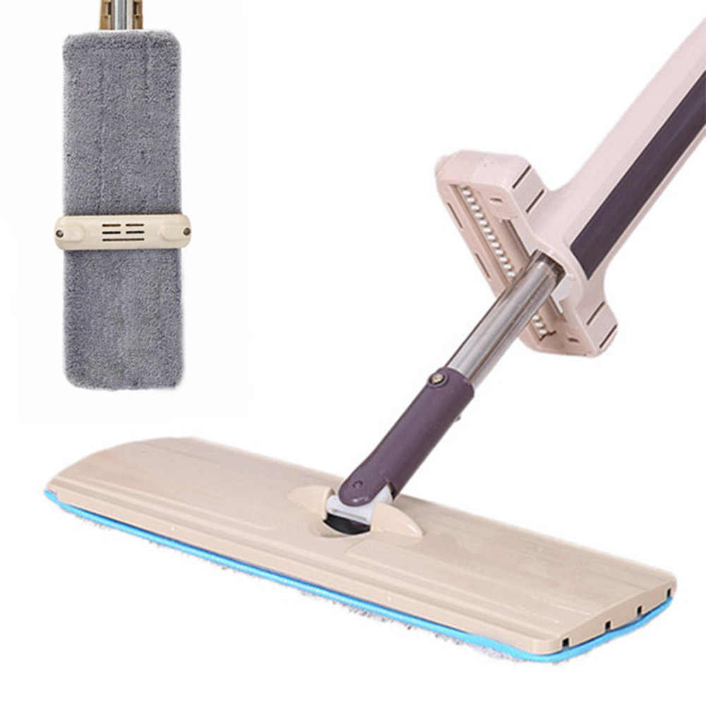 Household Mop Flat Cleaning Mop Floor Window Home Kitchen Bathroom Cleaning Tool