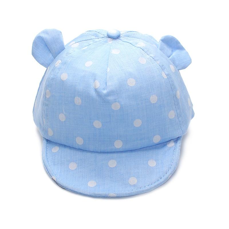 Dot Baby Caps Smile Boys Girl Băieți Cap Summer Boy Hat Șoșul de - Haine bebeluși