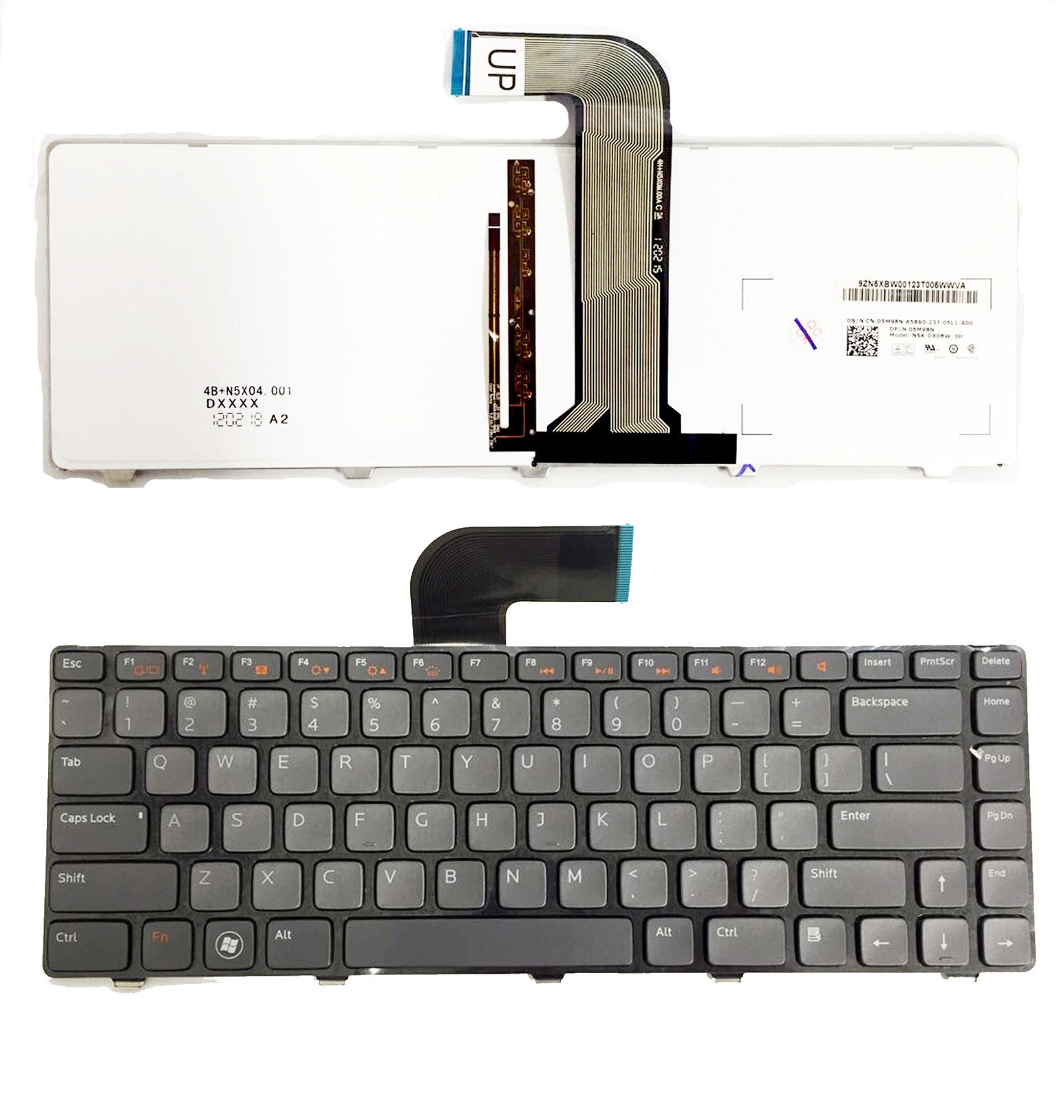 New Genuine for Dell Vostro 1440 1445 3450 3460 3550 3555 3560 BACKLIT Laptop Keyboard dav02amb8f1 laptop motherboard for dell vostro 3450 gg0vm best quality tested ok