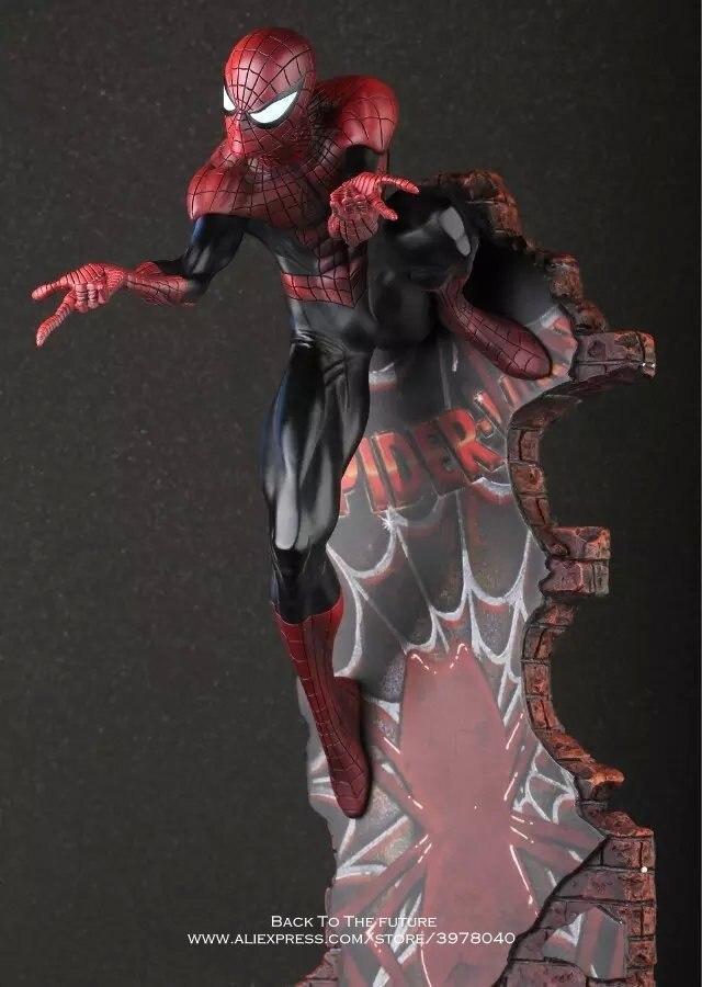 Oyuncaklar ve Hobi Ürünleri'ten Aksiyon ve Oyuncak Figürleri'de Disney Marvel Avengers Örümcek Adam Mezuniyet 50 cm Action Figure Anime Mini Dekorasyon PVC Koleksiyonu Heykelcik Oyuncak modeli çocuk'da  Grup 1