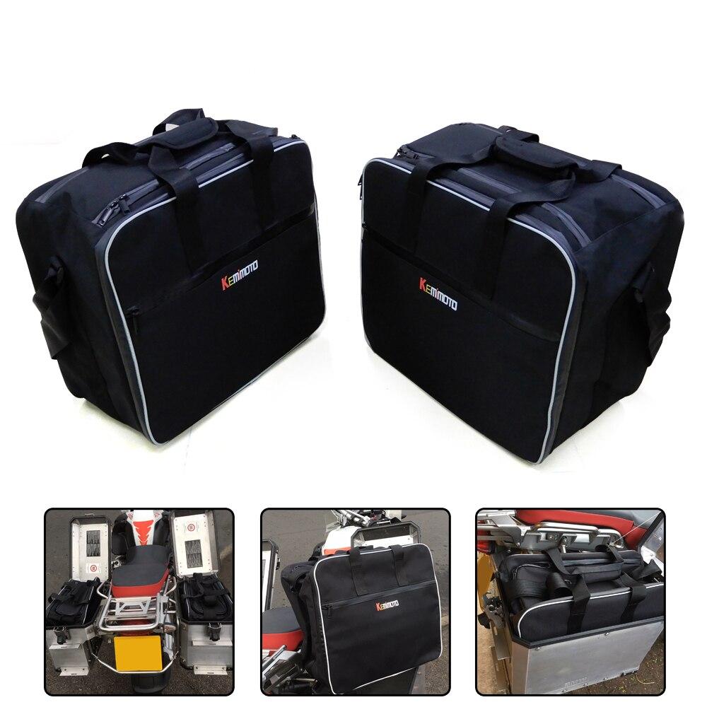 Для bmw f800gsa мотоцикл багажные сумки черные расширяемые Внутренние Сумки для BMW R 1200 GS приключения с водяным охлаждением 2013-2017