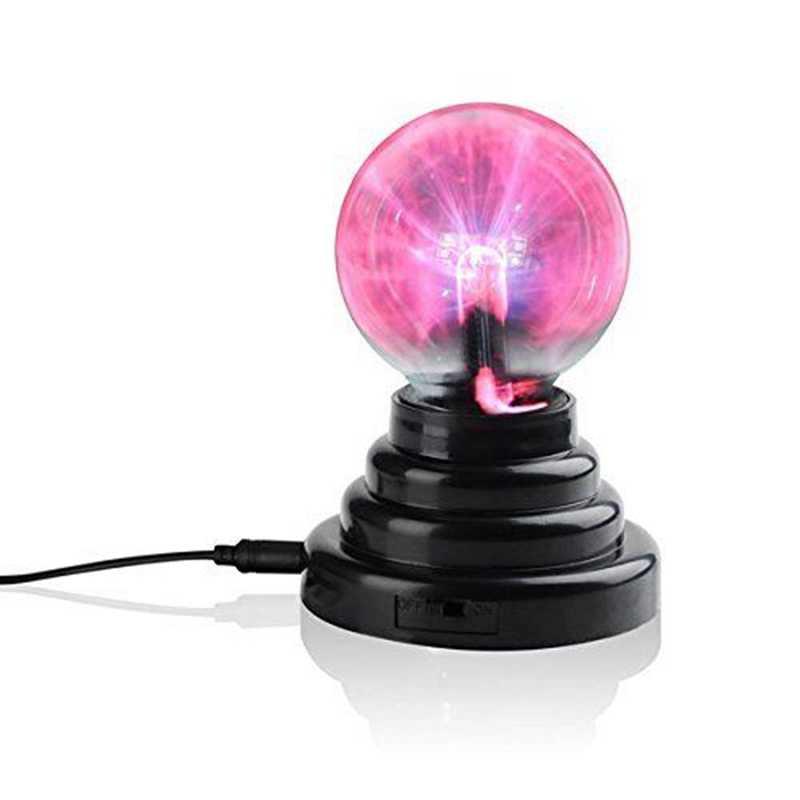 AIMIHUO 3 дюйма волшебный плазменный шар свет USB Lightning хрустальная лампа Детские вечерние декоративные лампы USB/AAA Touch Новинка Глобус свет