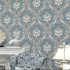 2015 Hot Sale Luxury Europe Damascus 3D Stereoscopic Wallpaper Elegant Mural Wall Paper Roll Soundproof Papel