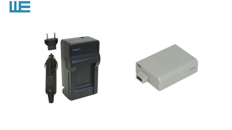 LP-E5, LPE5 аккумулятор и зарядное устройство для Canon EOS Rebel XSi XS T1i 450D 500D 1000D Kiss F/X2/X3