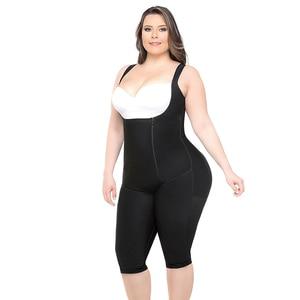 Image 3 - Женский тренажер для талии, Корректирующее белье, женское боди, моделирующий ремень, плотное Корректирующее белье, боди большого размера 6XL