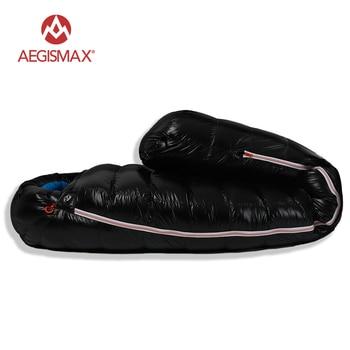 AEGISMAX White Goose Down Sleeping Bag Ultralight Baffle FP800 G1-G5 3
