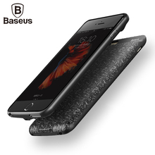 Baseus External Battery Pack For iPhone 7 6 6s Plus 2500/3650mAh Power Bank Case Ultra External Backup Battery Charger Case
