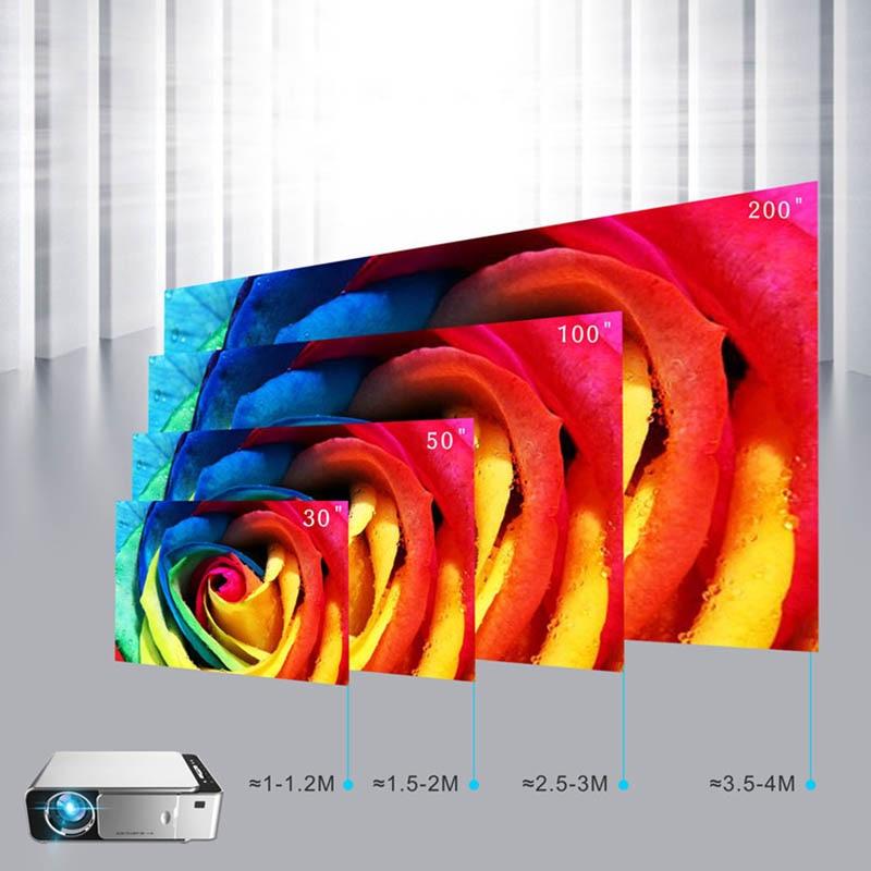 Full HD 1080 P LCD Projecteur 3500Lms Vidéo led HDMI VGA USB TV Home salle de cinéma SD998