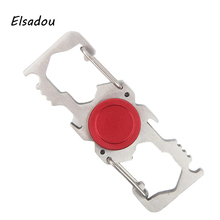 Elsadou Climbing Buckle gesper Hand Spinner Metal Fidget Toys Finger Spinner