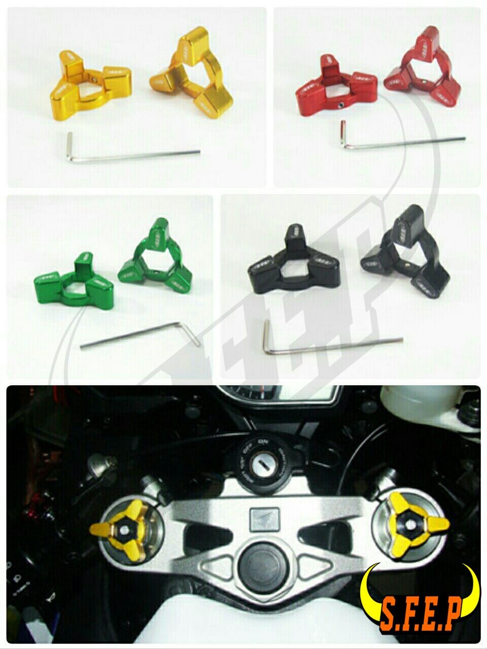 Motorcycle CNC Fork Preload Adjusters For BMW S1000RR 2009 2010 2011 2012 2013 2014
