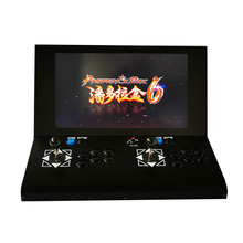 22  LCD Mini arcade with Classical games 645 In 1 PCB/SANWA button/SANWA joystick цена