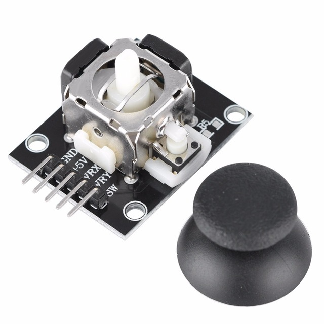 5Pcs Dual-axis Joystick Module For PS2 Game Controller Gamepad Control Lever Sensor for Arduino