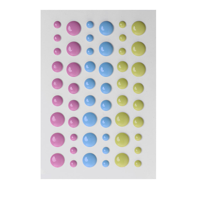 Emaille Stip Zelfklevende Sprinkles Emaille Stippen Hars Sticker voor Scrapbooking DIY Ambachten Card Maken Decoratie W210
