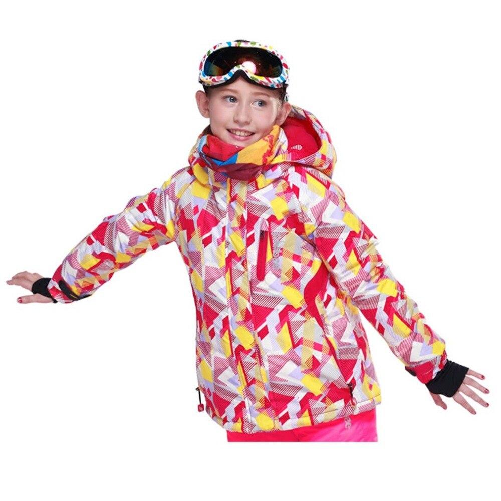 Girl Winter Outdoor Skiing Jacket Coat Snow suit ski suit kids winter clothing set for Girls шлифовальная машина фиолент мшу 1 20 230а