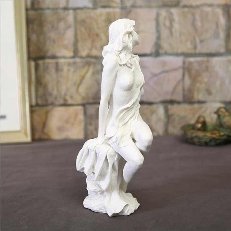ยุโรปโมเดิร์นหน้าแรกเดสก์ท็อปเรซิ่นความงาม Body Art หัตถกรรม Livingroom ตกแต่งเครื่องประดับบาร์อุปกรณ์เสริมชุด Figurines