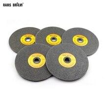 10 peças 150*6mm 7p 12p não tecido, roda unissex 180 #240 #400 # para polimento de desburring em aço inoxidável
