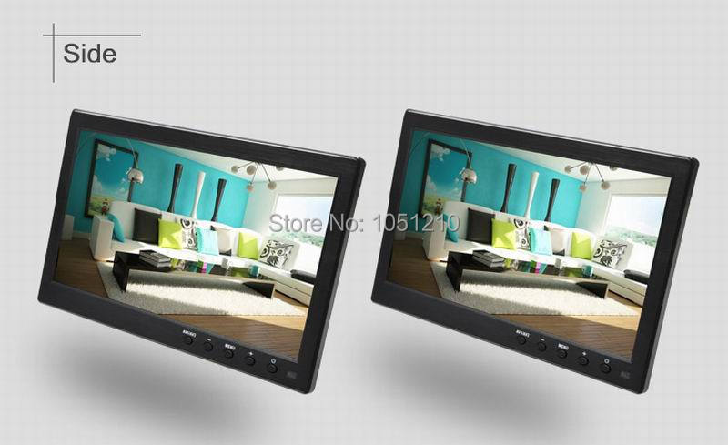 Ouchunagbo 10.1 Inch HD ips auto lcd scherm 1024*600 scherm AV VGA BNC HIMI ingang 1080 P Video 2 way video input - 5