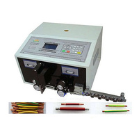 Full Automatic 0 1 2 5 Square Millimeter Computer Wire Stripping Machine SWT508C With Straightener For