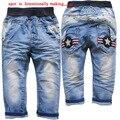 3591 soft Niños pantalones pantalones bebé niños jeans muchacha de los niños del otoño del resorte pantalones vaqueros del bebé pantalones moda de nueva